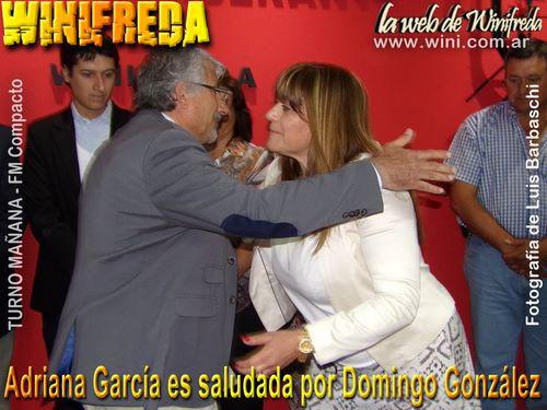 Domingo González y Adriana García