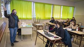 Educación en La Pampa: Presencialidad plena