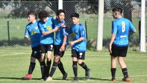 Inferiores del Deportivo Winifreda: Empate y cuartetazo