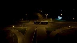 Nueva iluminación en el cruce de rutas 35 y 10, acceso a Winifreda