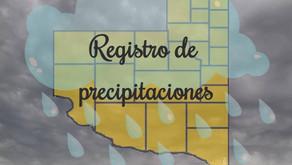 Lluvias en casi toda la provincia