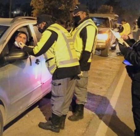 Profundizan controles de tránsito y alcoholemia en la Provincia
