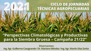 """Charla sobre """"Perspectivas Climatológicas y Productivas para la Siembra Gruesa"""""""
