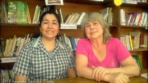 Alicia Alzamendi y Elcira López: Las bibliotecarias populares de Winifreda