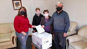 Winifreda: Importante entrega de subsidios
