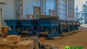 CEW: Continúan los trabajos en la fábrica de columnas