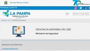 Se pueden hacer denuncias anónimas Online de delitos y contravenciones
