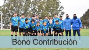 Nuevo sorteo del Bono Contribución de las inferiores del Deportivo Winifreda