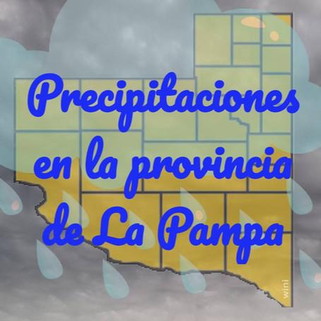 Registro de lluvias en la región. Viento y granizo en el norte y en el sur