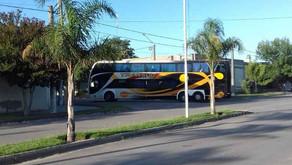 Frecuencia de colectivos que ingresan a Winifreda de la empresa Transur