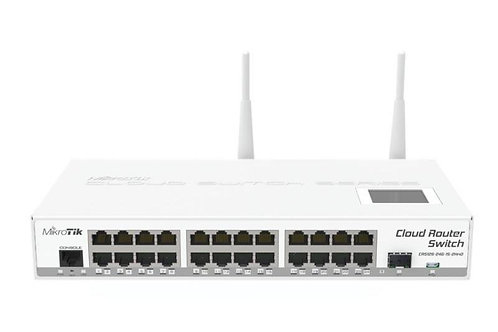 MikroTik CRS125-24G-1S-2HnD-IN Cloud Router Switch 2.4Ghz 802.11b/g/n Wireless