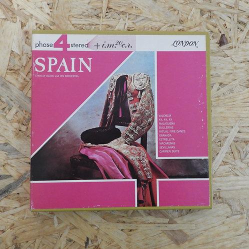 <再生確認済み>「 SPAIN / STANLEY BLACK AND HIS ORCHESTRA 」 オープンリール 7号 ミュージック テープ