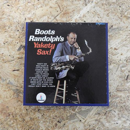 <再生確認済み>「 BOOT RANDOLPH / YAKETY SAX 」 オープンリール 7号 ミュージック テープ
