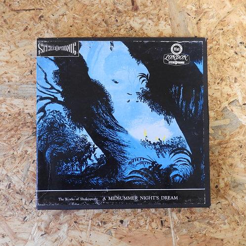 <再生確認済み>「 A MIDSUMMER NIGHT'S DREAM / SHAKESPEARE 」 オープンリール 7号 ミュージック テープ