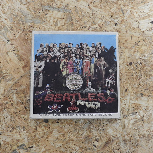 <再生確認済み>「 SGT. PEPPER'S LONELY HEARTS CLUB BAND / THE BEATLES 」 オープンリール 5号 ミュージッ