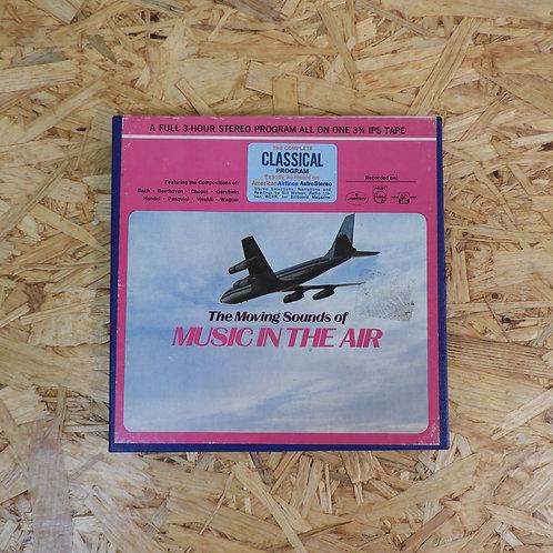 <再生確認済み>「 AMERICAN AIRLINES ASTROSTEREO CLASSICAL PROGRAM NO. CW-230 」 オープンリール 7