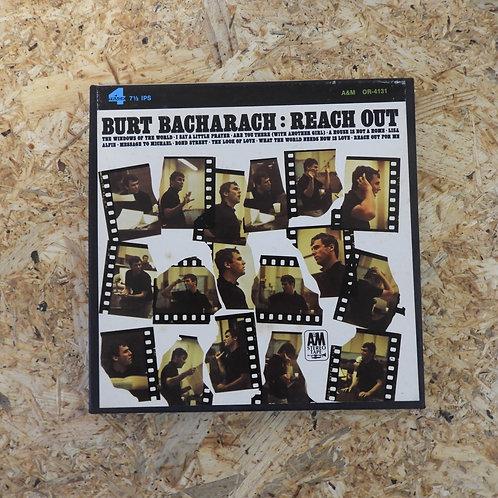 <再生確認済み>「 BURT BACHARACH : REACH OUT 」 オープンリール 7号 ミュージック テープ