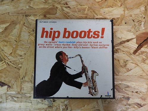 <再生確認済み>「 HIP BOOTS! / BOOTS RANDOLPH 」 オープンリール 7号 ミュージック テープ