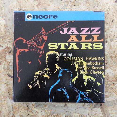 <再生確認済み>「 JAZZ ALL STARS 」 オープンリール 7号 ミュージック テープ