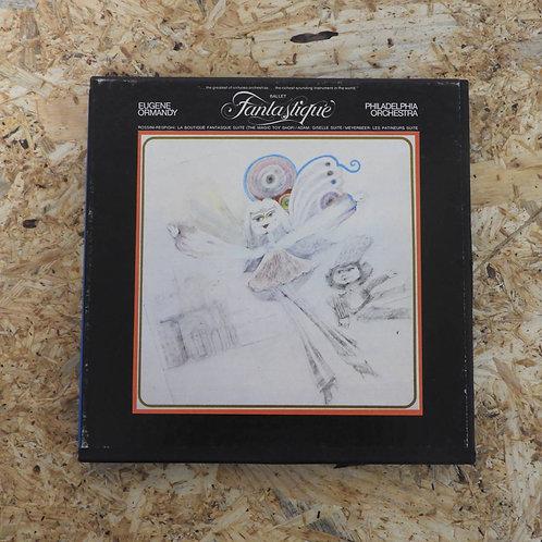 <再生確認済み>「BALLET FANTASTIQUE / EUGENE ORMANDY 」 オープンリール 7号 ミュージック テープ
