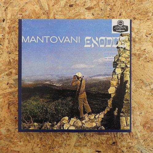<再生確認済み>「 MUSIC FROM EXODUS & OTHER THEMES / MANTOVANI 」 マントヴァーニ オープンリール 7号 ミュージ