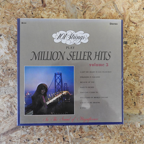 <未開封!>「 101 STRINGS PLAY MILLION SELLER HITS / VOLUME 3 」 オープンリール 7号 ミュージック テープ