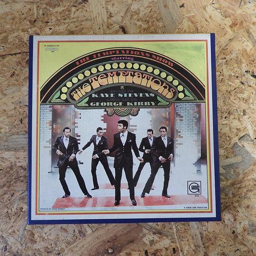 <再生確認済み>「 THE TEMPTATIONS SHOW 」 オープンリール 7号 ミュージック テープ
