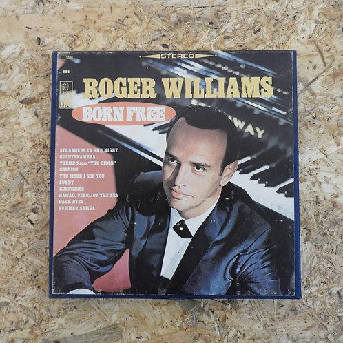 <再生確認済み>「 ROGER WILLIAMS / BORN FREE 」 オープンリール 7号 ミュージック テープ