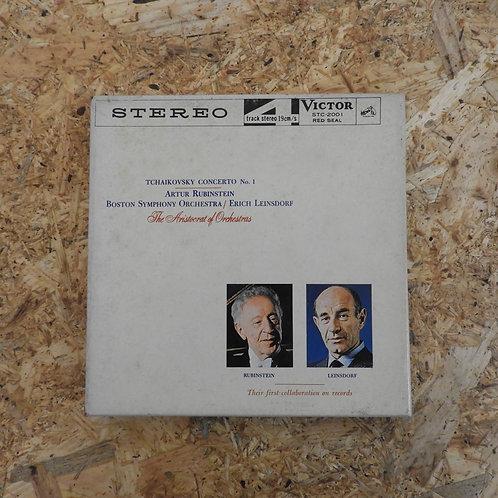 <再生確認済み>「 チャイコフスキー:ピアノ協奏曲第1番 / アルトゥール・ルービンシュタイン 」 オープンリール 7号 テープ