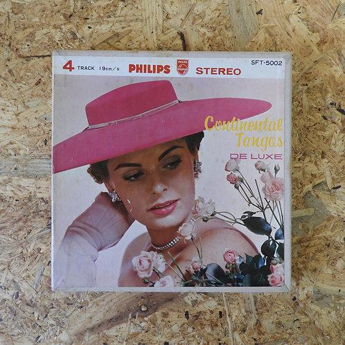 <再生確認済み>「 コンチネンタル・タンゴ・デラックス 」 オープンリール 7号 ミュージック テープ