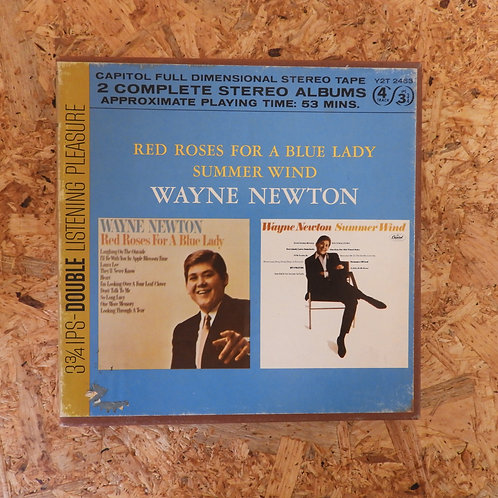 <再生確認済み>「 RED ROSES FOR A BLUE LADY , SUMMER WIND / WAYNE NEWTON 」 オープンリール 7号 ミュ