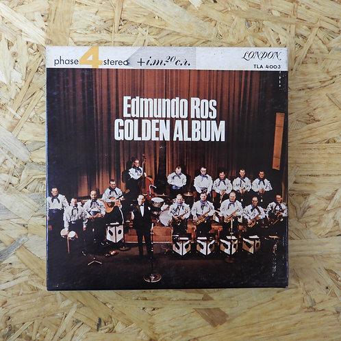 <再生確認済み>「 GOLDEN ALBUM / EDOMUNDO ROS 」 オープンリール 7号 ミュージック テープ