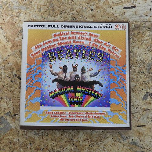 <再生確認済み>「 MAGICAL MYSTERY TOUR / THE BEATLES 」 ビートルズ オープンリール 7号 ミュージック テープ