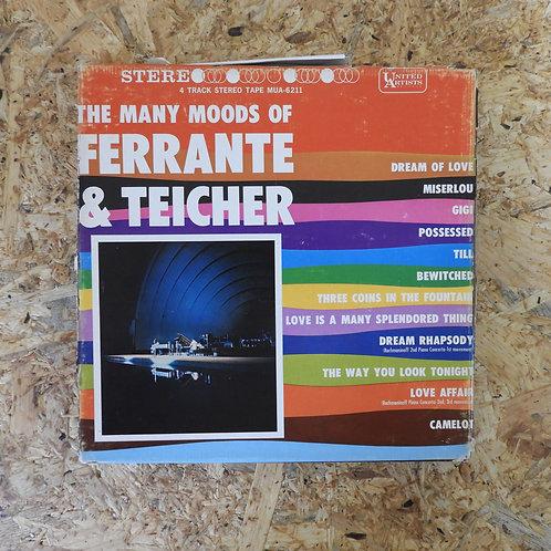 <再生確認済み>「 THE MANY MOODS OF FERRANTE & TEICHER 」 オープンリール 7号 ミュージック テープ
