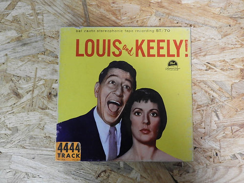 <再生確認済み>「 LUIS AND KEELY! 」 オープンリール 7号 ミュージック テープ