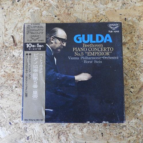<再生確認済み>「 ベートーヴェン:ピアノ協奏曲第5番〈皇帝〉 / フリードリッヒ・グルダ 」 オープンリール 7号 ミュージック テープ