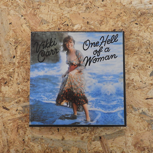 <再生確認済み>「 ONE HELL OF A WOMAN / VIKKI CAR 」 オープンリール 7号 ミュージック テープ
