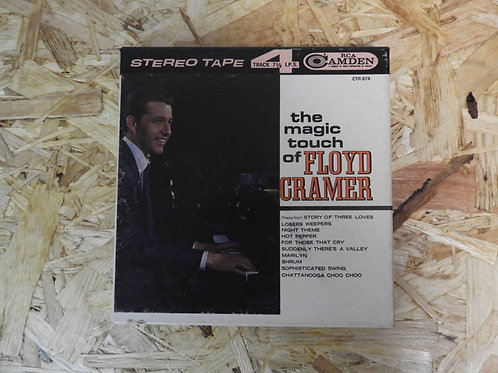 <再生確認済み>「 THE MAGIC TOUCH OF FLOYD CRAMER 」 オープンリール 7号 ミュージック テープ
