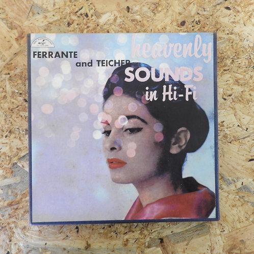 <再生確認済み>「 HEAVENLY SOUNDS IN HI-FI / FERRANTE & TEICHER 」 オープンリール 7号 ミュージック テープ