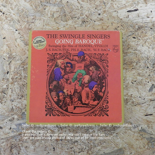 GOING BAROQUE / THE SWINGLE SINGERS