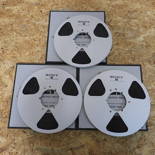 <状態未チェック> オープンリール テープ 10号 メタルリール 3本セット! 210