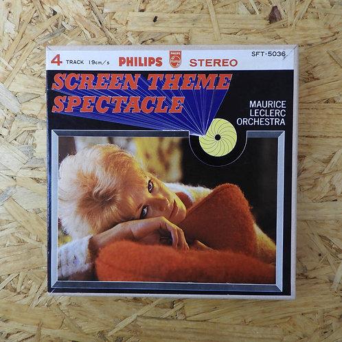<再生確認済み>「 スクリーンの恋人たち / モーリス・ルクレール・スクリーン・スペクタクル 」 オープンリール 7号 テープ