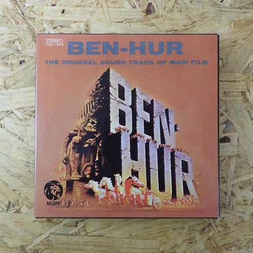 <再生確認済み>「 BEN-HUR : ベン・ハー / オリジナル・サウンド・トラック」 オープンリール 7号 ミュージック テープ