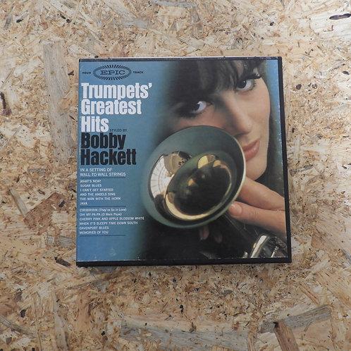 <再生確認済み>「 TRUMPETS' GREATEST HITS / BOBBY HACKETT 」 オープンリール 7号 ミュージック テープ