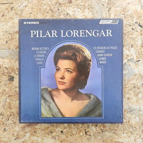 <再生確認済み>「 PILAR LORENGAR / OPERATIC RECITAL 」 オープンリール 7号 ミュージック テープ
