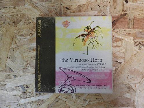 <再生確認済み・訳あり品>「 THE VIRTUOSO HORN 」 モーツァルト オープンリール 7号 ミュージック テープ