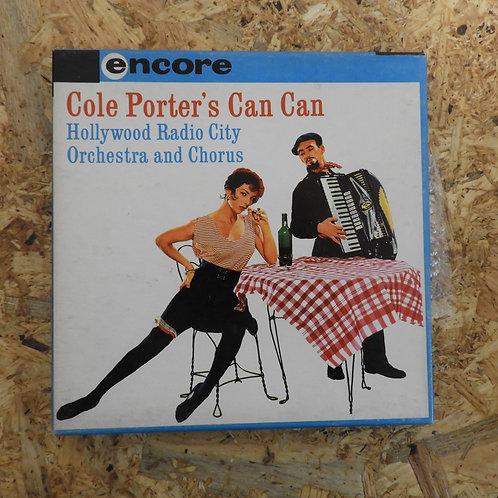 <再生確認済み>「 COLE PORTER'S CAN CAN 」 オープンリール 7号 ミュージック テープ