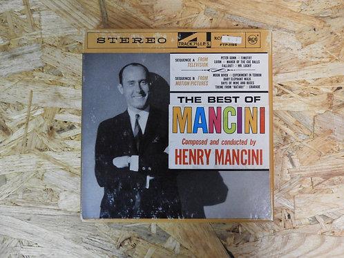 <再生確認済み>「 THE BEST OF MANCINI 」 オープンリール 7号 ミュージック テープ