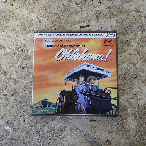 <再生確認済み>「 OKLAHOMA! - SOUNDTRACK 」 オープンリール 7号 ミュージック テープ