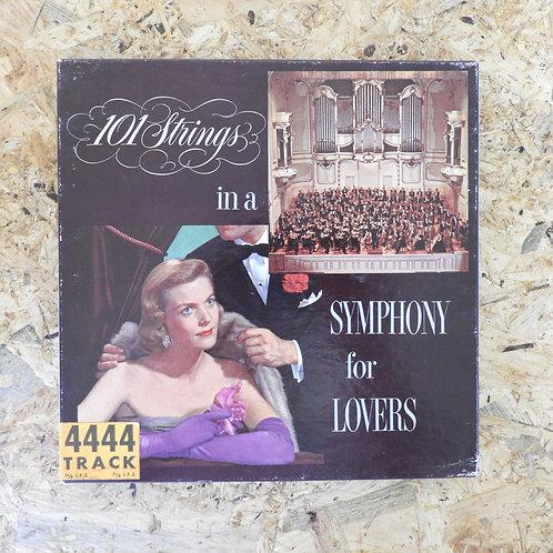 <再生確認済み>「 101 STRINGS - SYMPHONY FOR LOVERS 」 オープンリール 7号 ミュージック テープ